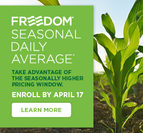 The Andersons Freedom Seasonal Daily Average