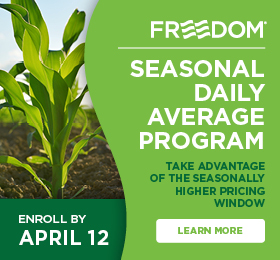 The Andersons Seasonal Daily Average Freedom Enroll by April 12