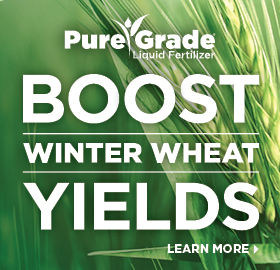 The Andersons Boost Winter Wheat Yields