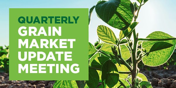 The Andersons Quarterly Grain Market Update Meeting