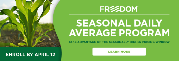 The Andersons Seasonal Daily Average Enroll by April 12