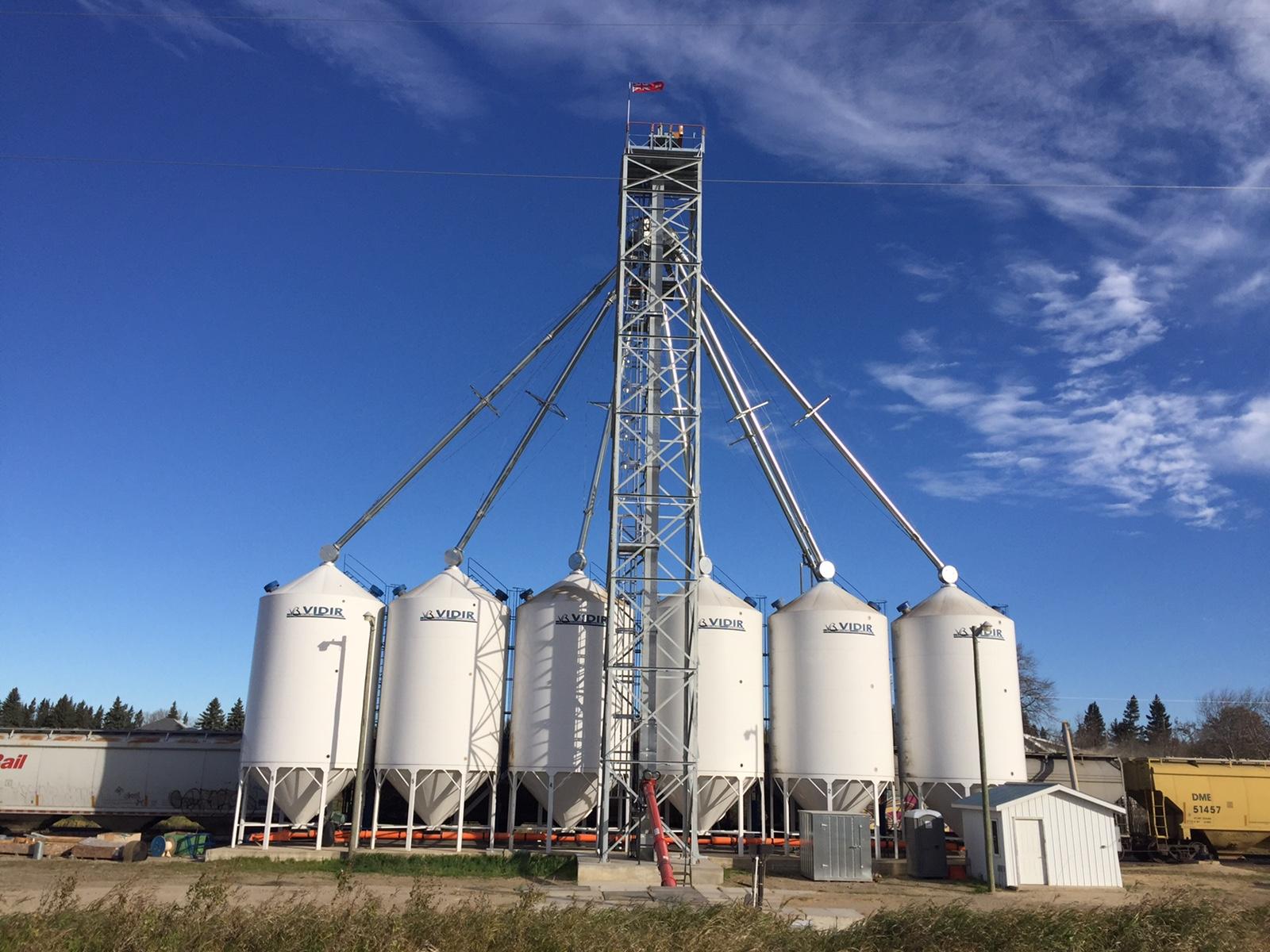 Darlingford Grain Elevator - The Andersons Grain Group